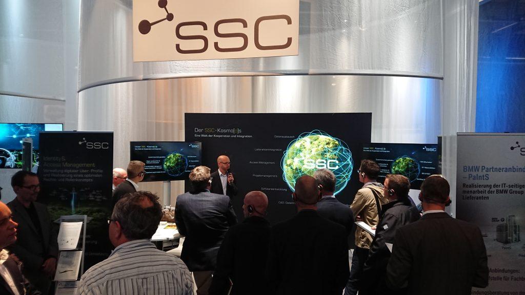 SSC-Services bei der BMW Group IT Messe 2017