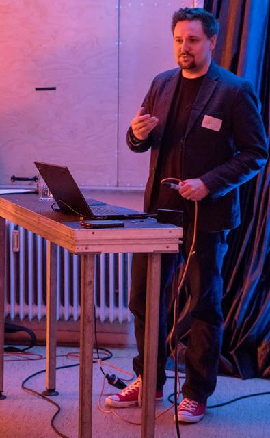 Christopher Roehl bei den TechTalks Stuttgart