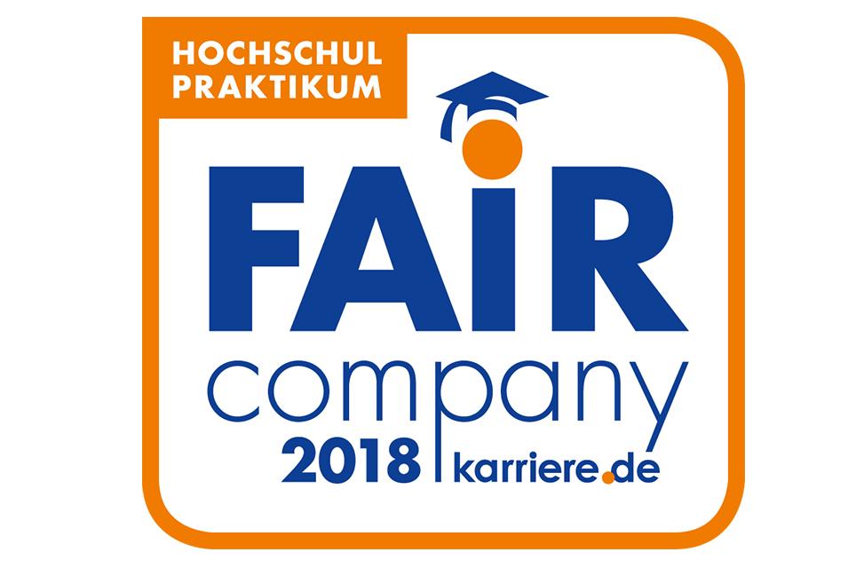 SSC-Services Auszeichnungen Fair company 2018