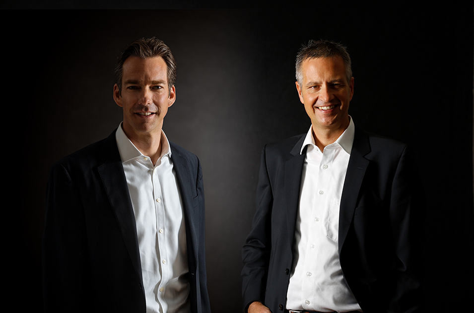 Geschäftsführer Tobias Rhode und Matthias Stroezel
