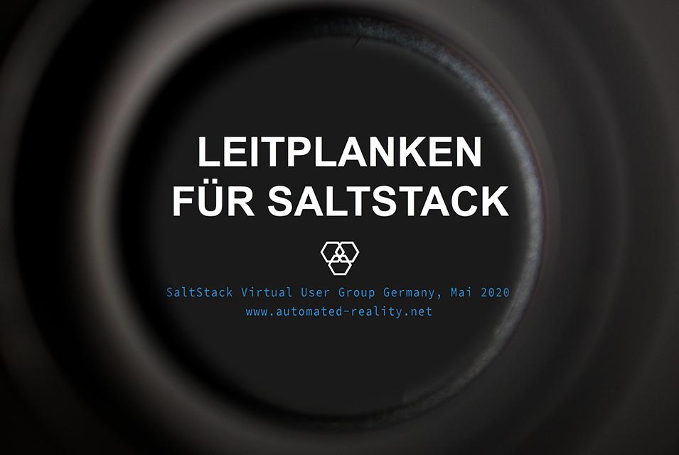 Leitplanken für SaltStack