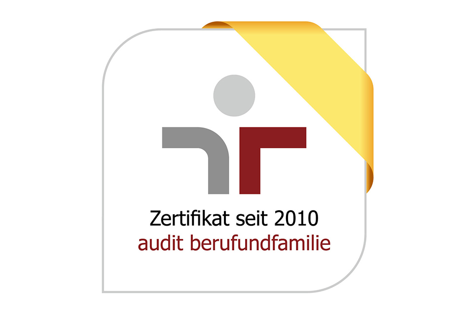 Logo Zertifikat Beruf und Familie 2020